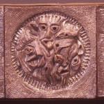 geglazuurd met bronsglazuur/10x30cm 2011