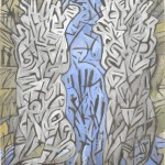 conté krijt op papier/2012  70x100cm