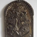 ceramic with bronze glazer/30x20cm
